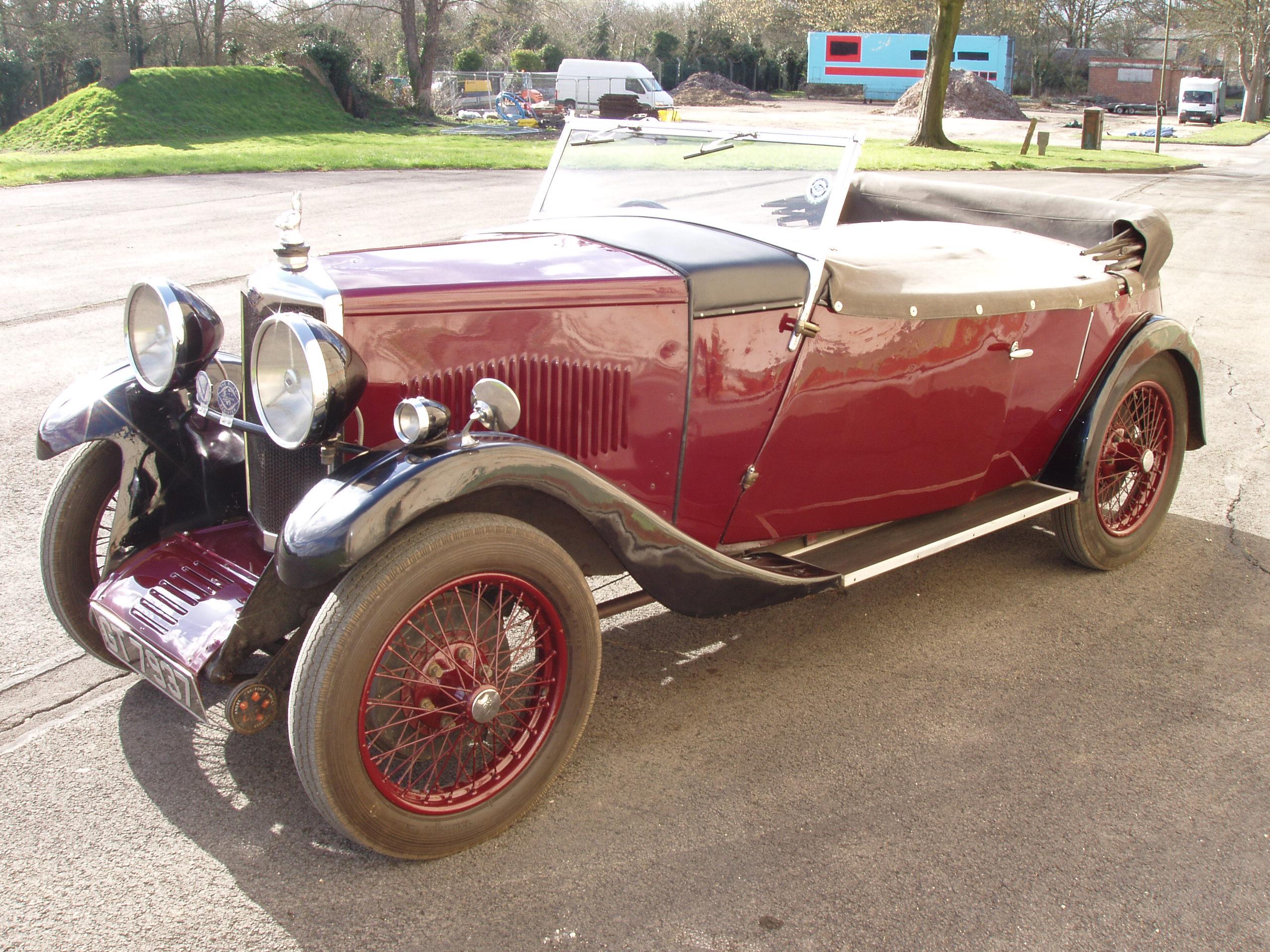 1932年 ライレー 9 4シート ツアラー by ホルブロック
