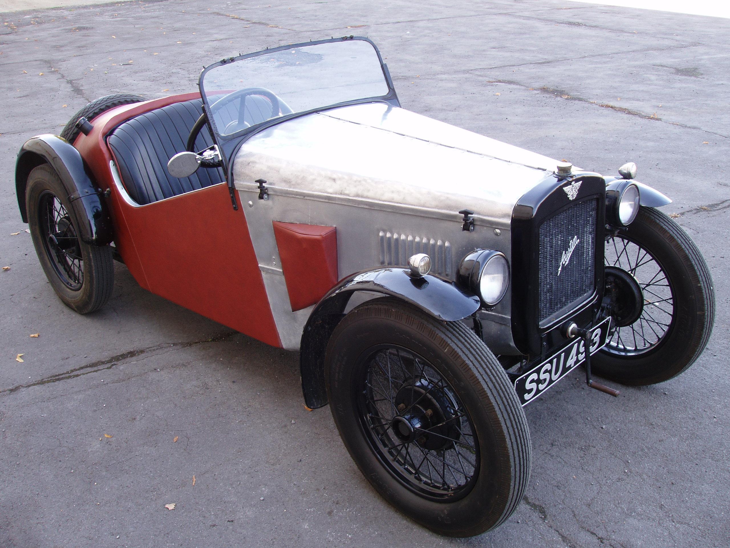 1932年 オースチン セブン スーパー