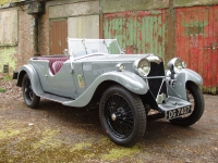 Riley 9 Lynx tourer with disappearing hood
