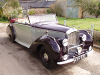 Bentley Mk VI Dhc by Park Ward