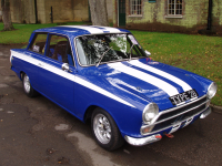 Lotus Cortina Mk I 2-door race prepared